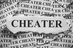 Cheater Stock Photos