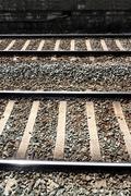Train railways Stock Photos