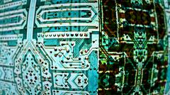 Integrated Circuit Boards - stock illustration