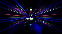 Futuristic Electronic Light Technology - stock illustration