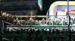 Brazilian Singer Ivete Sangalo at Carnaval 2015 in Salvador, Bahia, Brazil Stock Footage