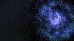 Wormhole or Black hole Stock Footage