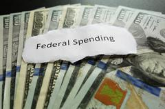Federal Spending - stock photo