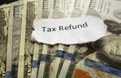 Tax Refund Stock Photos