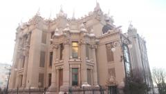 The house with Chimeras. Kyiv. Ukraine. Stock Footage