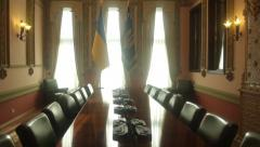 The main hall inside the House with Chimeras (vertical panorama) Kiev.Ukraine. Stock Footage