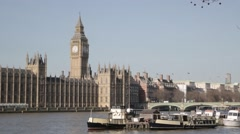 London's Big Ben/Elizabeth Tower (B-Roll/Cutaway/GV) | HD 1080 - stock footage