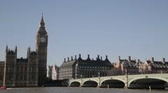 London's Big Ben/Elizabeth Tower (B-Roll/Cutaway/GV)   HD 1080 - stock footage