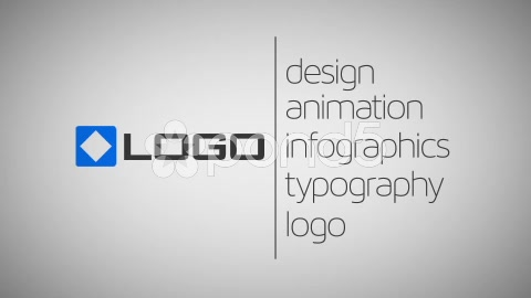 After Effects Project - Pond5 Minimal Animated Business Card Logo Text via  ...