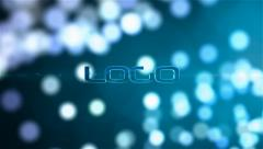 Bokeh Logo - stock after effects