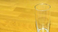 Sparkling beverage Stock Footage
