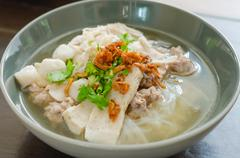 Vietnamese pho noodle soup Stock Photos