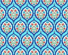 background with seamless pattern two - stock illustration