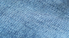 Denim Fabric 3 Stock Footage