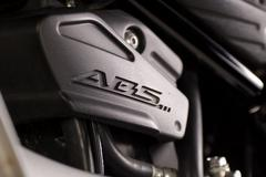Motorbike ABS Closeup - stock photo