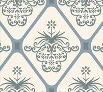 Vintage background. Royal ornament. Stock Illustration