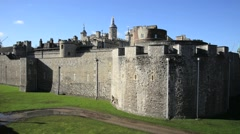 The Tower of London, Royal Palace 6 Stock Footage