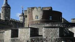 The Tower of London, Royal Palace 7 Stock Footage