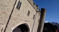 The Tower of London, Royal Palace 10 Stock Footage