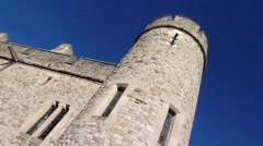 The Tower of London, Royal Palace 15 Stock Footage