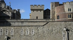The Tower of London, Royal Palace 13 Stock Footage
