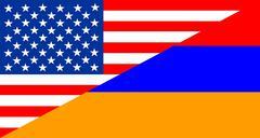 Usa armenia Stock Illustration