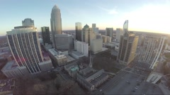 Downtown City Aerial Arkistovideo