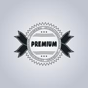 Product label sticker Stock Illustration