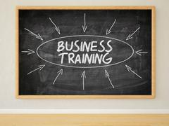 Business Training Stock Illustration