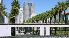 4K, UHD, Fox Movie Studios, Los Angeles, California, BlackMagic 4K Camera Stock Footage