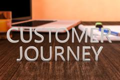 Customer Journey - stock illustration