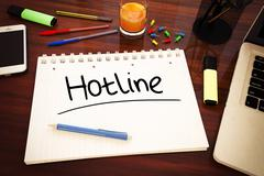Hotline Stock Illustration
