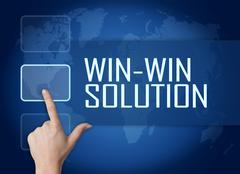 Win-Win Solution - stock illustration