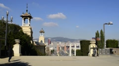 Cityscape. Barcelona, Catalonia, Spain. Stock Footage