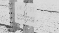 Stock Video Footage of Vorsith Auschwitz