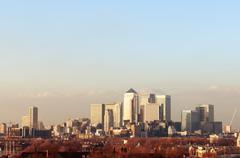 London financial centre Stock Photos