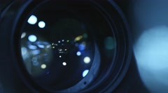 4k HD Camera Lens Focus - Shallow Depth 1 Stock Footage