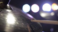 Hi-hat, hi hat, hihat drums Stock Footage