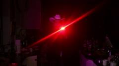 Man with gun cowboy hat 1 Stock Footage