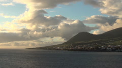 Saint Kitts in the Caribbean Stock Footage