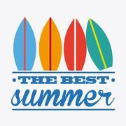 Stock Illustration of summer day design, vector illustration eps10 graphic