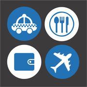 Stock Illustration of travel concept design, vector illustration eps10 graphic