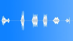 Robotic Vocalizing Pack Sound Effect