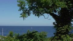 Ostsee seegelschiff Stock Footage