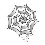 Stock Illustration of spider web art