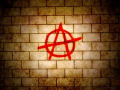 Stock Illustration of Anarchy symbol