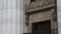 Bush House The Aldwych London 2 Stock Footage