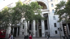 Bush House The Aldwych London 3 Stock Footage