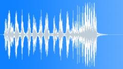 Cartoon bird disgust shake Sound Effect