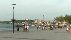 Canakkale City in Turkey Stock Footage
